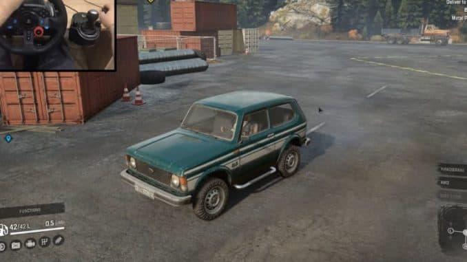 Don 71 авто - Нива 21213 фото в игре SnowRunner