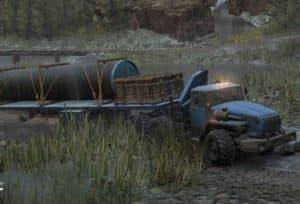 Урал 432031 с большим грузом