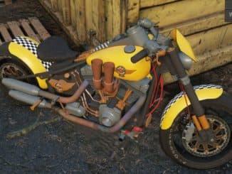 Harley Davidson Fat Boy SnowRunner вид спереди